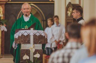 Msza pożegnalna Księdza Proboszcza Stanisława Marca