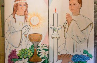 Dekoracje naIKomunię Świętą iBierzmowanie