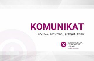 Komunikat Przewodniczącego KEP wzwiązku zkolejnym ograniczeniem liczby uczestników zgromadzeń