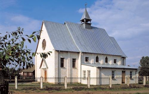 Kościół filialny pw.NMP Częstochowskiej wJaszczułtach